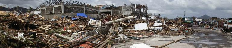 Typhoon Yolanda - Emergency Relief Efforts