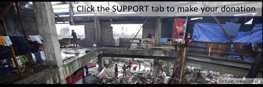 Typhoon Yolanda -  Your help is needed!